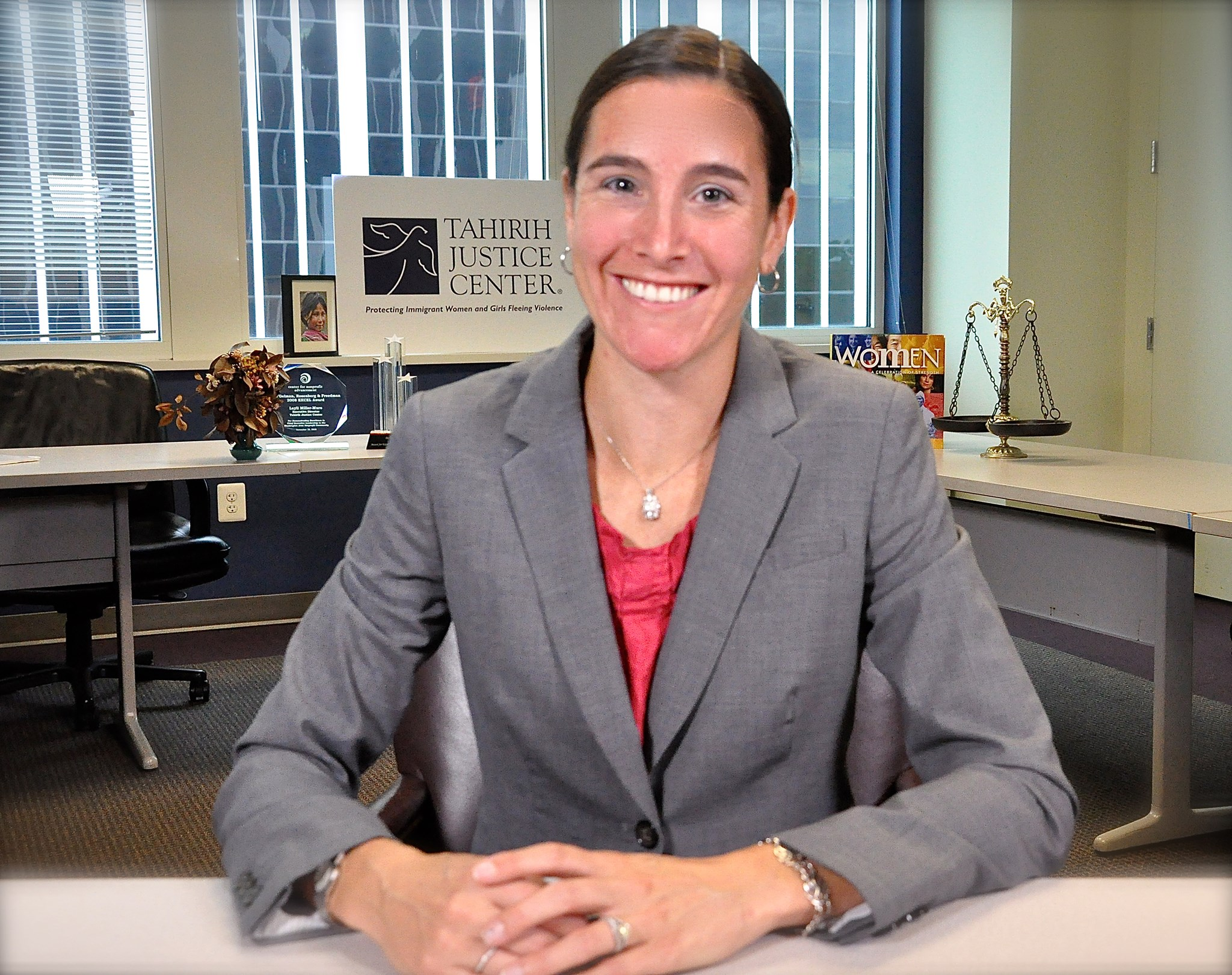 Staff Attorney, Laurie Ball Cooper Films VAWA training video